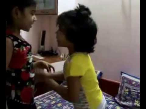 Cute Indian babies talking in Hindi video