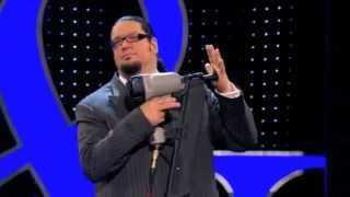 ‪Penn & Teller: The great nail gun trick