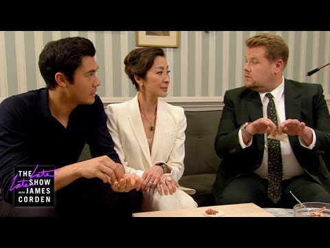 James Can't Impress Henry Golding's Crazy Rich Mom w Michelle Yeoh