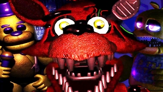 IM A PART OF ONE OF THE ANIMATRONICS?! || FNAF Final Hours (FREE ROAM Five Nights at Freddys)