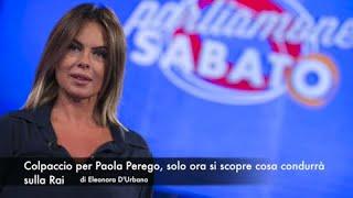 Colpaccio per Paola Perego, solo ora si scopre cosa condurrà sulla Rai