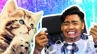 TRY NOT TO LAUGH + ELECTRICITY CHALLENGE!