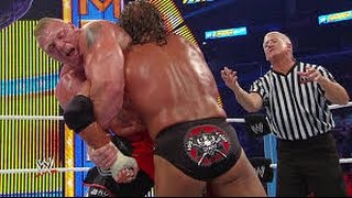 Brock Lesnar vs Triple H   SummerSlam 2012