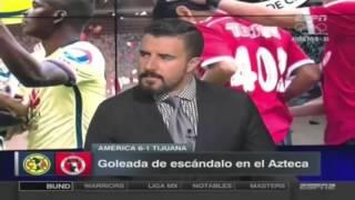 Futbol Picante América 6-1 Tijuana Jornada 13 Clausura 2016 9 Abril 2016