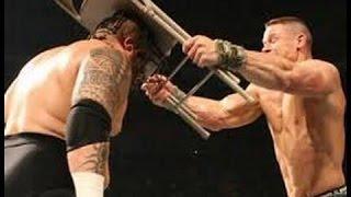 WWE John Cena vs Umaga ► John Cena nearly killed Umaga   Bloodiest Match Ever