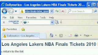 Free download NBA final 2010 highlights video