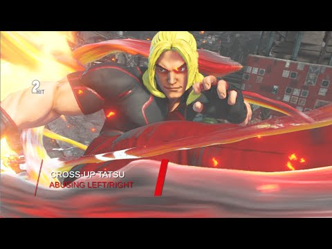 Using Ken Cross up Tatsu GROUNDED & AIR SF5