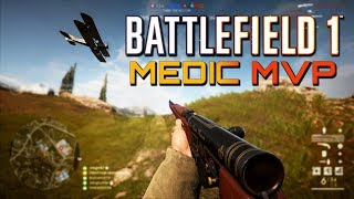 Battlefield 1: MEDIC MVP - RSC On Empire's Edge (PS4 PRO Gameplay)