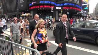 Melissa Joan Hart outside the MTV studios in New York, NY...