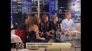 El elenco del Muro Infernal festeja Halloween - Susana Gimenez 2008