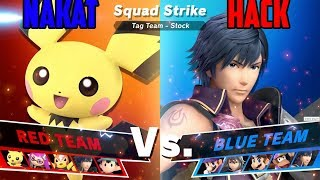 Nakat vs Hackoru Squad Strike 5v5