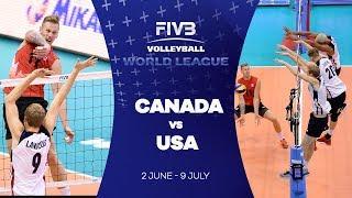 Canada v USA highlights - FIVB World League