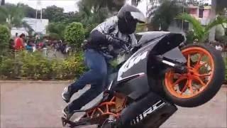 Bike Stunts at Auto Expo 2016