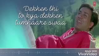 Dekhe bhi to kya dekhe tumhare Siva 💕   WhatsApp status song  💞