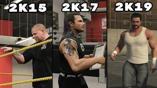 Evolution of WWE 2K My Career Opening Cutscenes (WWE 2K15 - WWE 2K20)