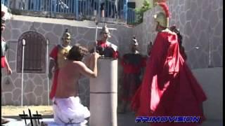 Viacrucis  VIVIENTE  2012 de la Colonia Cristo Rey PARTE  3 /12 (LA FLAGELACION)