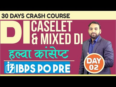 IBPS PO PRE 2018     Day — 2   Caselet D.I.    By Arun Sir   6 P.M