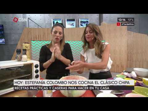 Tarde XTRA Clases de cocina de chipa con Estefanía Colombo