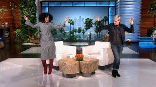 Tracee Ellis Ross Makes Her Ellen Debut