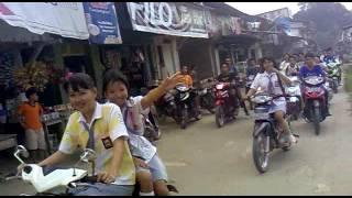 Nanga Mahap SMA N 1 Pawai Kelulusan Stefanus DKK 2012