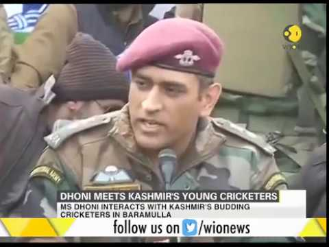 Xxx Mp4 Watch What MS Dhoni Says To Budding Kashmiri Cricketers 3gp Sex