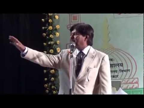 Tahir Faraz  in Jashne Urdu Mushaira at Patna