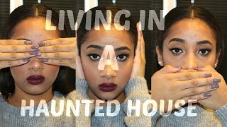 Story Time   I Lived In A Haunted House   With Pictures !