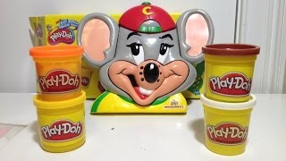 Play-Doh ChuckE Cheese Pizza Play Set How To Make Play Doh Video Unboxing