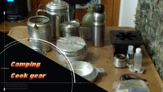 Bushcraft cooking gear review