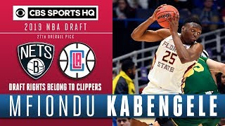 Mfiondu Kabengele is one of the best value picks in this draft  CBS Sports