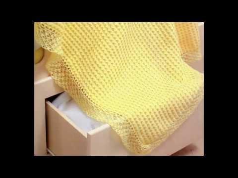 Como Tejer Cobija con Puntada Tapetillo Crochet Medio grado dificultad