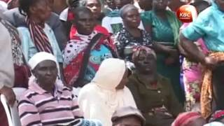 Squatters from Kilimambogo receive title deeds