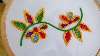 Hand Embroidery: Wine stitch
