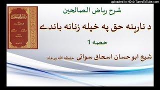 sheikh abu hassaan swati pashto bayan - د خاوند حق په ښځه باندې - حصه 1