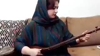 Poshto girl sitar