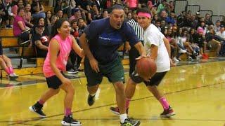 Chino Hills Teachers VS Students Game - Staff Schools Students! | Midnight Madness