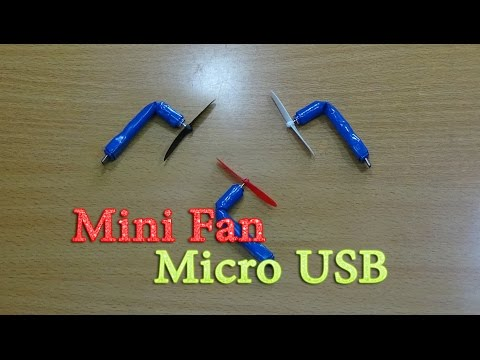 Xxx Mp4 How To Make Mini Powerful Micro USB Fan For Mobile Smartphone 3gp Sex