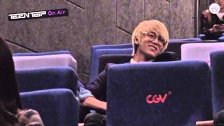 TEEN TOP On Air-Do You Know Taekwondo Premiere/Press conference VOSTFR
