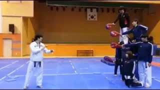 Amazing Taekwondo Kick!! Awesome