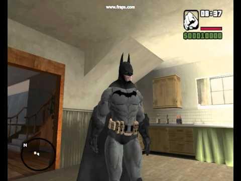 Gta San Andreas Batman Dark Knight Begins Models