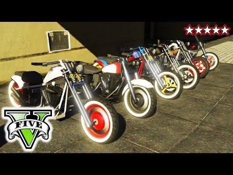 GTA BIKER GANG! | Riding & Killing with the Crew GTA V | GTA 5 CUSTOM BIKES