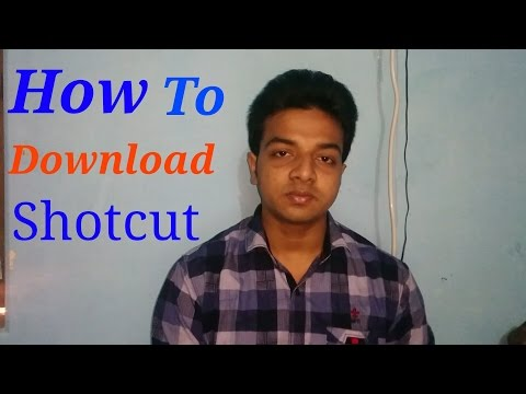 How To Downlode Shotcut Video Editing Software