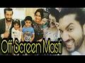 Download Video Download Off Screen Masti : Ishqbaaz Actors Latest 3GP MP4 FLV