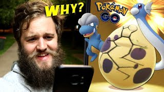THIS EGG HATCH UPSET ME.. (9 X 10KM GEN 3 EGGS) - POKEMON GO