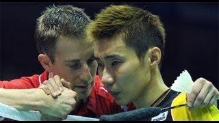 [Highlights] Badminton - Lee Chong Wei vs Peter Gade - 4 Kings - 2011
