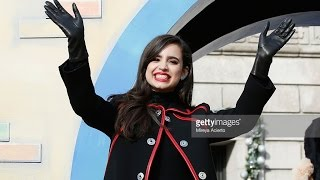 Descendant's Sofia Carson at the Macy's Thanksgiving Day Parade 2015 NYC