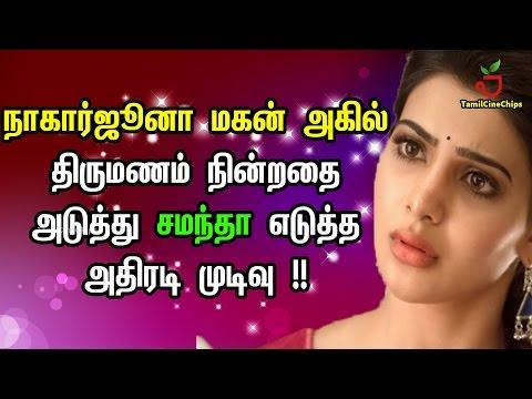 Xxx Mp4 அகில் திருமணம் நின்றதை அடுத்து சமந்தா எடுத்த அதிரடி முடிவு Tamil Cinema News TamilCineChips 3gp Sex