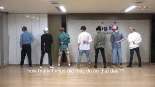 THINGS YOU DIDN'T NOTICE IN BTS (i like it part 2 dance practice) '좋아요 Part 2' Dance Practice
