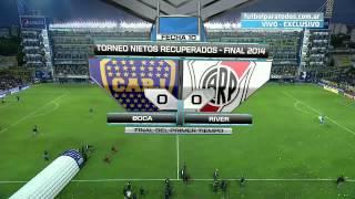 Boca 1 River 2 - Clausura 2014 - Partido Completo - Relatos Mariano Closs