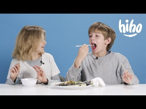 Dinners American Kids Try Food From Around the World Ep 3